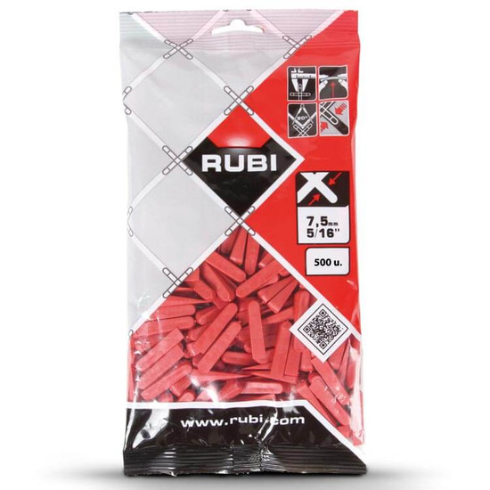 Rubi 5/16 inch Wall Tile Wedges 100 Piece Bag