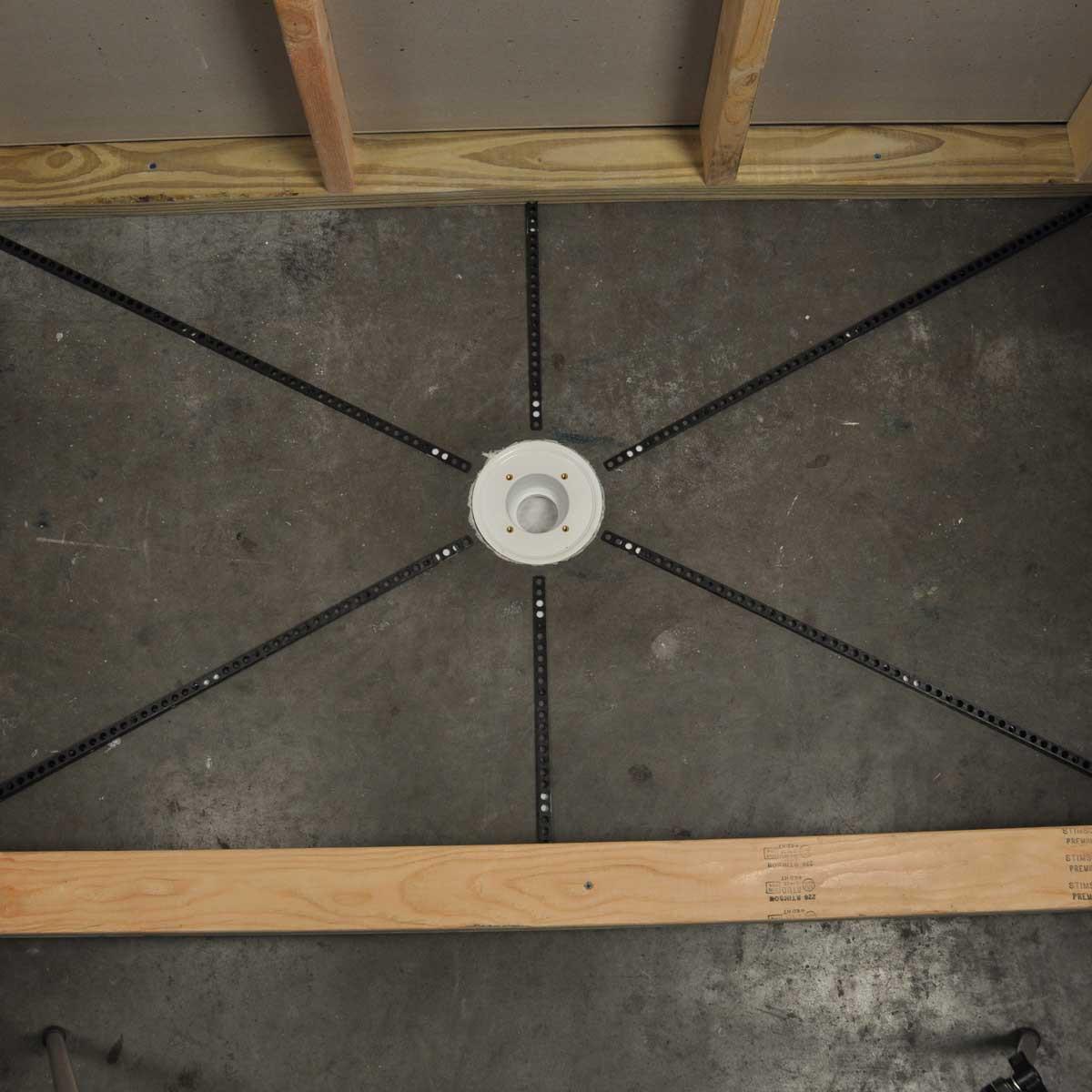 Mud Floor 3 in 1 Standard Shower Kit