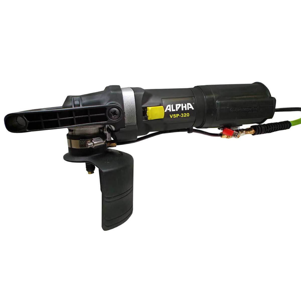 alpha, vsp-320, variable speed polisher, alpha wet polisher