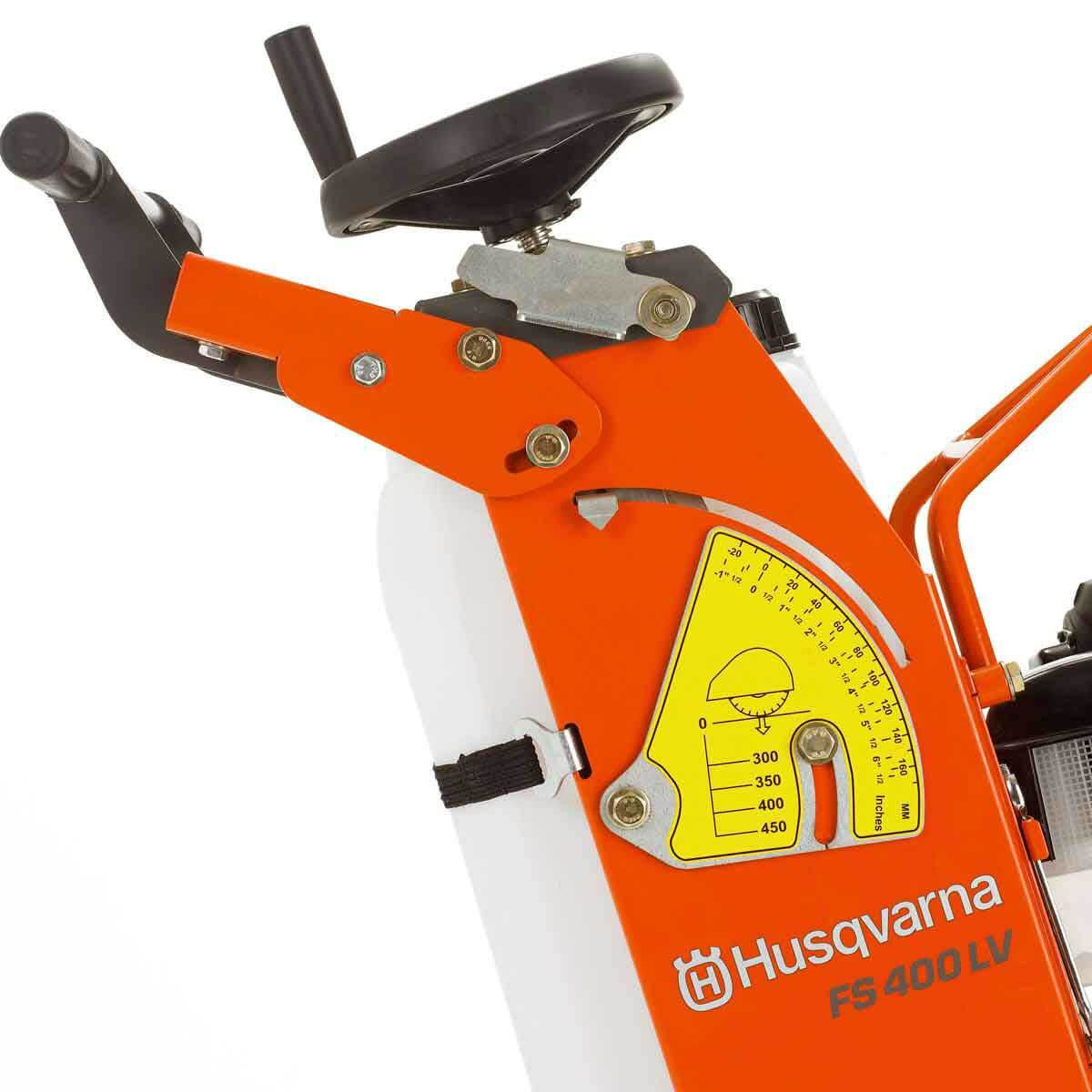 Husqvarna FS400 Concrete Saw depth