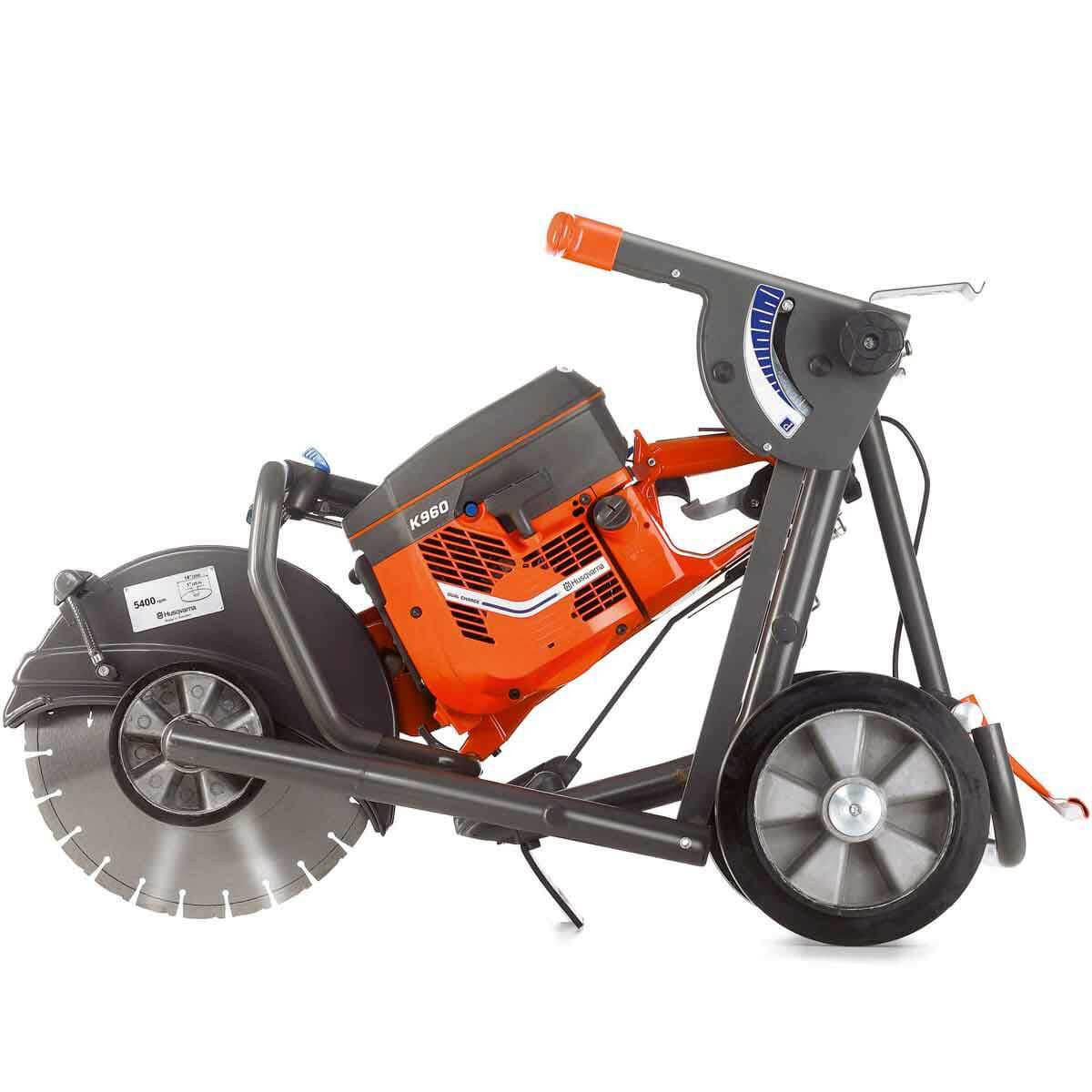 Husqvarna saw Cutting kart folded