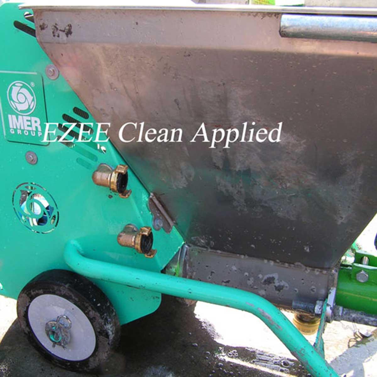 Imer Ezee Clean applied