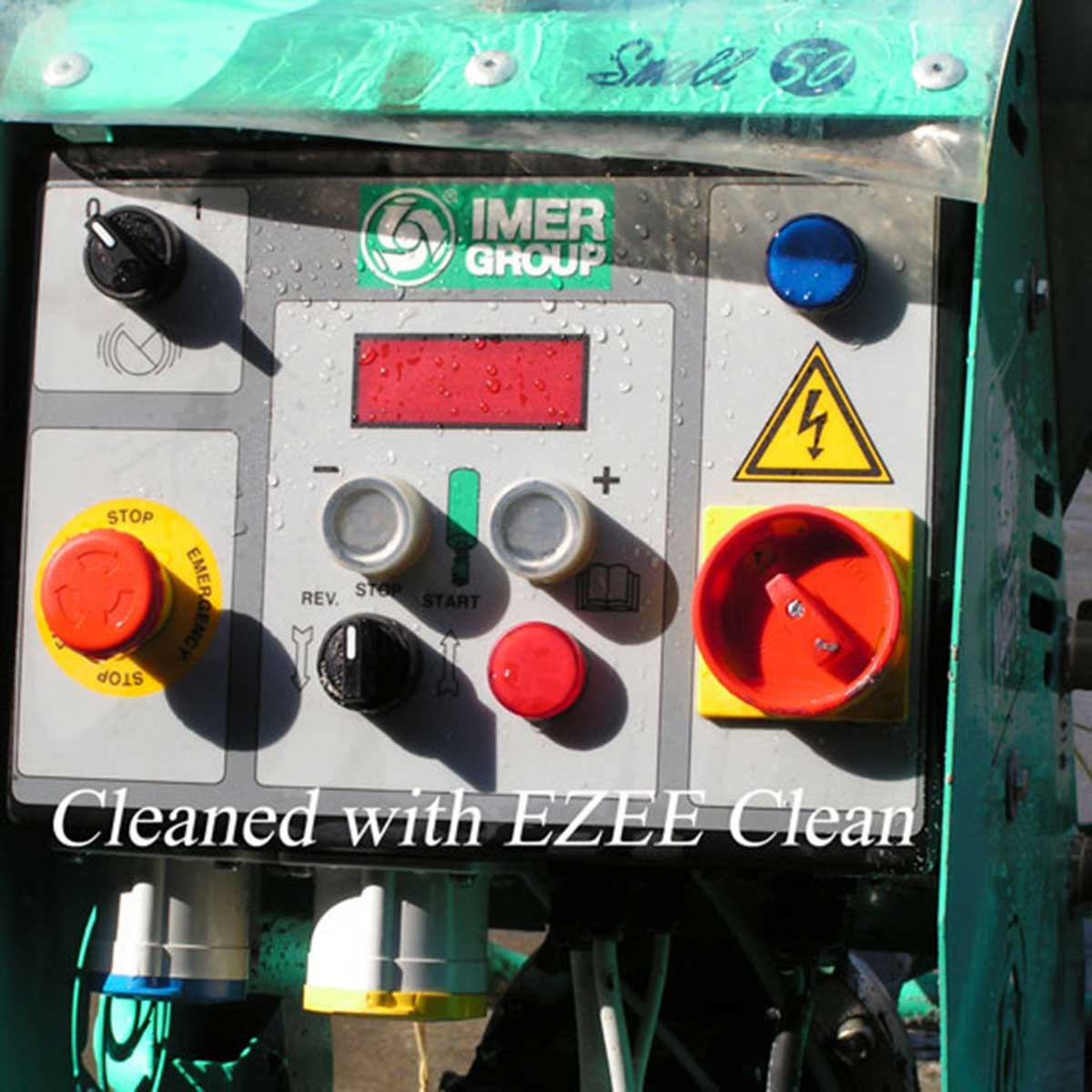 Imer Ezee Clean after application