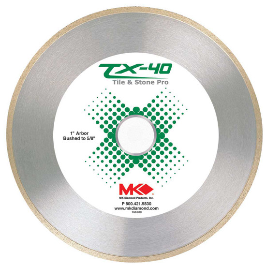 mk tx40 ceramic tile diamond blade