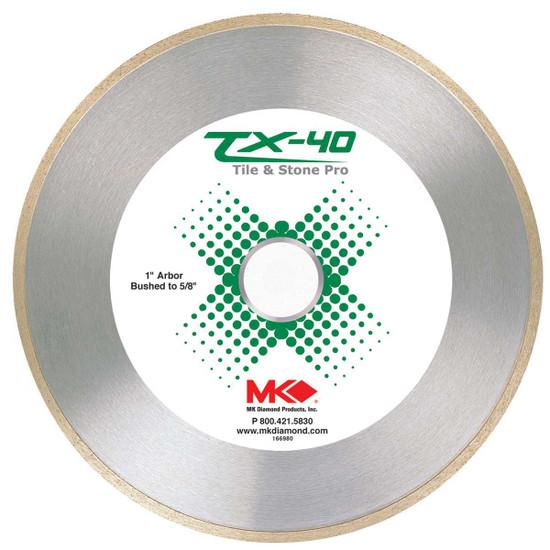 MK Diamond TX-40 Diamond Blades