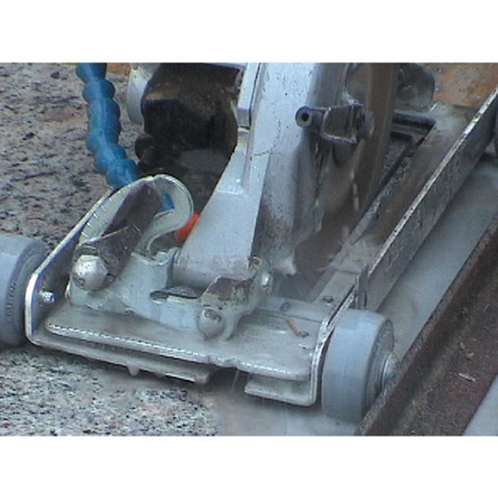 Cutting Granite Countertops with Blade Roller Attachment